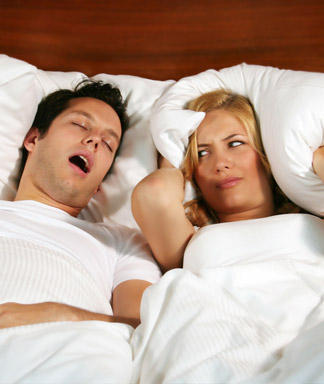 Snoring can be a big problem