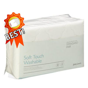 John Lewis Soft Touch Washable Pillow Protectors review - best pillow protector