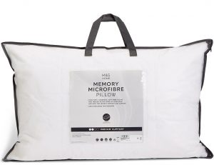 Marks and Spencer Memory Microfibre Pillow review
