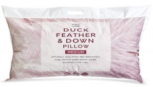 M&S duck feather and down pillow review