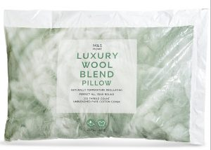 M&S Wool Pillow review