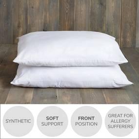 Dunelm Fogarty Anti-Allergy Soft Support pillow pair
