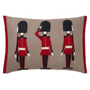 John Lewis Queen's Guard cushion