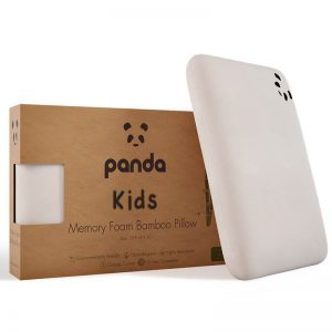 Panda-Kids-Memory-Foam-Bamboo-Pillow 1
